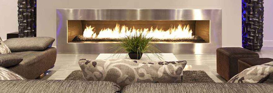 Décorer son salon avec une cheminée moderne
