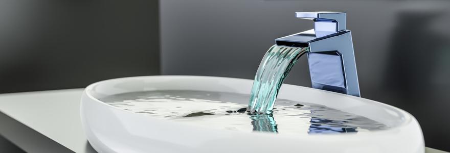 robinet a l effet cascade