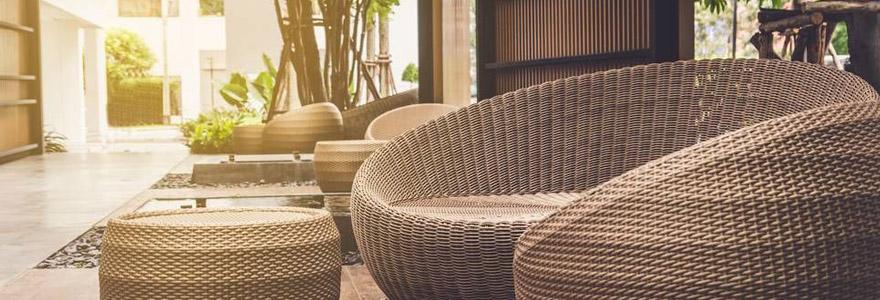 Les mobiliers de jardin