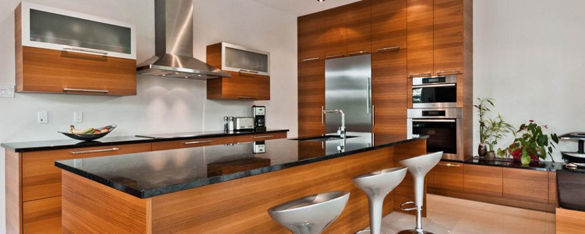 electromenager dans une cuisine