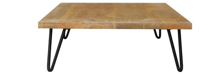 Pieds de table design : opter pour le modèle de pieds épingles